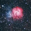Messier 8 & Messier 20 - Lagoon Nebula & Trifid Nebula,                                William Tan