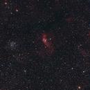 NGC 7635 – Bubble nebula and M52,                                Olli67