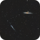 Ngc 4631 - Ngc  4656,                                Jerry@Caselle