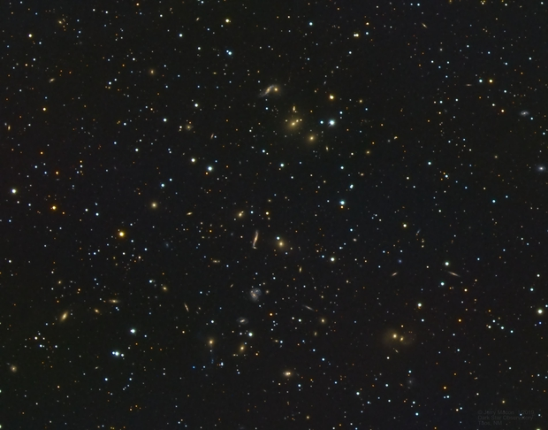 Abell 2151 Hercules Galaxy Cluster,                                Jerry Macon