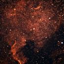 NGC 7000 North American Nebula,                                Jeff Clayton