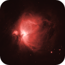 M42 Orion Nebula - Ha,                                Sébastien Kesteloot