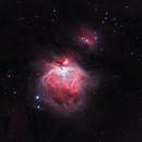 Orion Nebula,                                Mike Brady