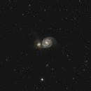 M51 Whirlpool galaxy,                                Corentin Martine