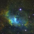 Hot Air Balloon in Space-  Bubble Nebula SHO,                                Chris R White