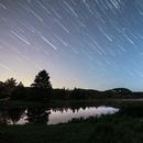 Startrails and fireflies,                                AstroGG