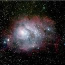 M8 (Nébuleuse de la Lagune),                                bzizou