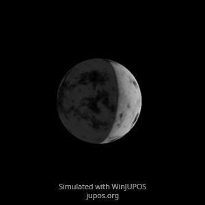 Venus Thermal Emissions on April 27, 2020,                                Chappel Astro