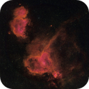 IC 1805 and 1848 - The Heart and Soul Nebula  (HSO),                                Roger Bertuli