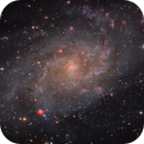 M33 in HaRGB,                                wimvb