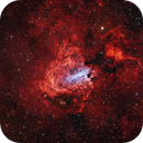 M17 Swan-Nebula,                                Rolf Dietrich