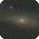 M31 teleskop Test,                                Sven Hendricks
