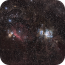 Orion at 200mm over Terlingua TX,                                Astro Jim