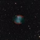 Dumbell Nebula,                                Everett Lineberry