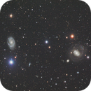 NGC4151 & NGC4145 in Canes Venatici L_RGB,                                MassimoTuninetti