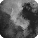 NGC 7000 Short test with Full Moon,                                Vincent