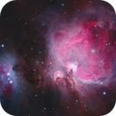 Messier 42 and The Running Man nebula,                                Barry Wilson