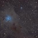Iris Nebula - unfortunately only 5 lights,                                casamoci