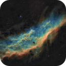 Sh2-220 / NGC 1499 - The California nebula in  Perseus - SHO,                                Daniel.P