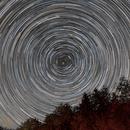 Star trails,                                Tamas Kriska