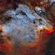 IC 5070 - Pelican Nebula,                                Yannick Akar