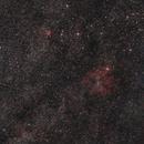 Cepheus IC 1396 region – 70mm focal lenght widefield,                                Olli67
