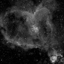 Heart Nebula in Ha,                                astroisk