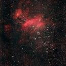 IC4628 The Prawn Nebula, NGC6231 NGC6242 Cluster,                                Hata Sung