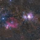 Orion and Horsehead Nebula,                                Khosro Jafarizadeh