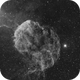 Jellyfish Nebula - QHY600 - Esprit 150 - Ha,                                Eric Walden