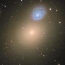 Arp 116 (M60-NGC4647) and M60-UCD1 Close Up,                                Boris Emchenko