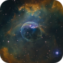 bubble nebula NGC 7635 closeup,                                Christoph Lichtblau