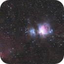"""M42, M43, IC434 et al. - Nebulae in Orion,                                Sebastian """"BastiH..."""