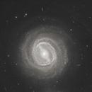 NGC 3783 and its shining center surrounding supermassive black hole,                                Leo Shatz