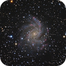 NGC 6946 and SN 2017eaw,                                Patrice RENAUT