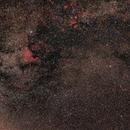 Cygnus wide field no mount Astrotracer / Pentax K30D astrodon + Pentax 50mm f/1.7  /  400 iso,                                patrick cartou