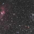 NGC 7635 + M52,                                Dom...