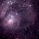 Lagoon Nebula,                                Michael Finan