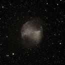 M27 The Dumbbell Nebula in Mono,                                Starman609