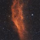California Nebula - NGC 1499,                                kosmoplan