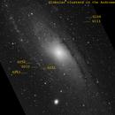 Globular clusters in the Andromeda Galaxy,                                Michael Taube