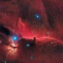 IC434 en HaRVB,                                Georges