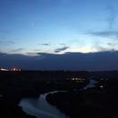 Planet Conjunction above Snake River,                                Gary Leavitt