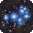 M45 Pleiades in Spring,                                Wooseok_Jeon