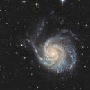 M101, 52 hours, T250 f/4  /  ATIK ONE  /  AZEQ6,                                Pulsar59