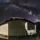 Milky Way Panorama 28 Frames,                                Chris1985