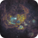 NGC6357 - Lobster with Fire & Ice,                                jlangston_astro