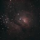 M8 - The Lagoon Nebula,                                lonespacewolf