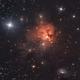 Northern Trifid Nebula LRGB,                                Mike Matthews