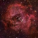 The Rosette Nebula in LRGB,                                Arun H.